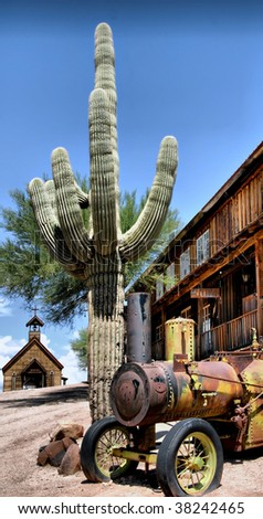 days of the wild west in the desert