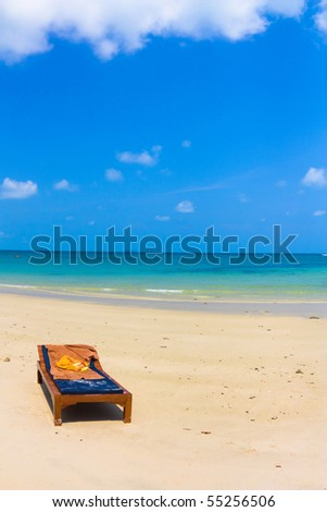 Daytime bed - stock photo