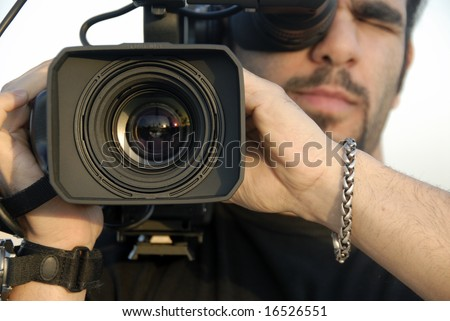 Daytime Broadcast - stock photo
