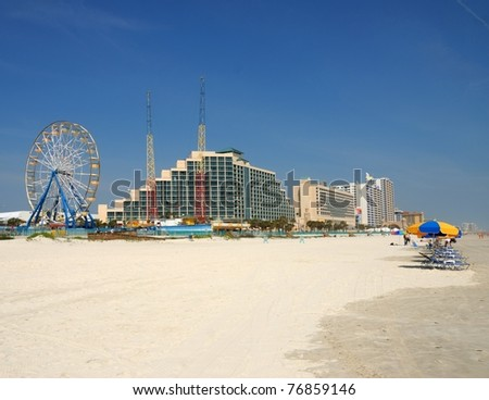 Daytona Beach Florida - stock photo