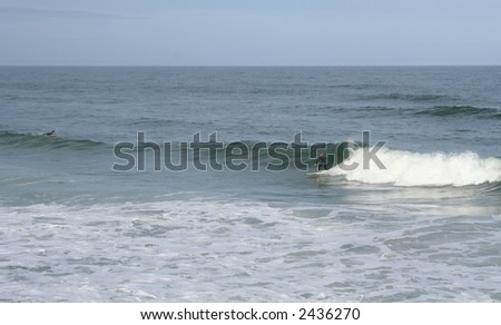 Daytona Beach Surfer - stock photo