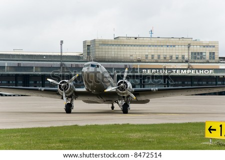 dc3 in berlin tempelhof