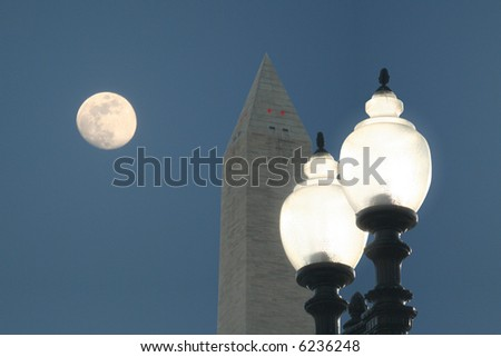 DC in the PM - stock photo
