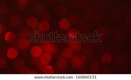De-focused Abstract Light Circles - stock photo