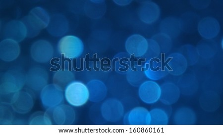 De-focused Abstract Light Circles - stock photo