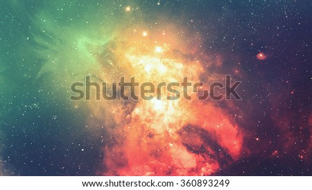 De-focused abstract texture of universe for graphic design