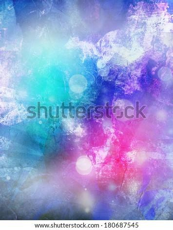 de focused lights on colorful background illustrated - stock photo