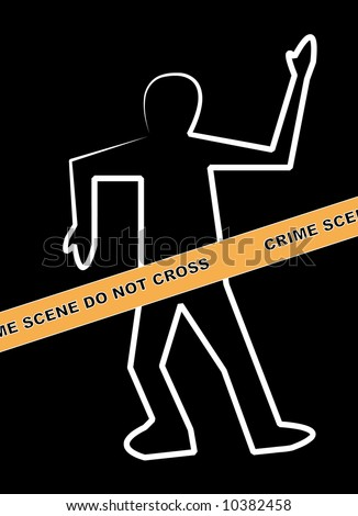 Dead body outline stock images royalty free images vectors dead body outline with crime scene do not cross banner pronofoot35fo Gallery