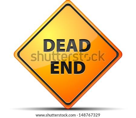 Dead End - stock photo
