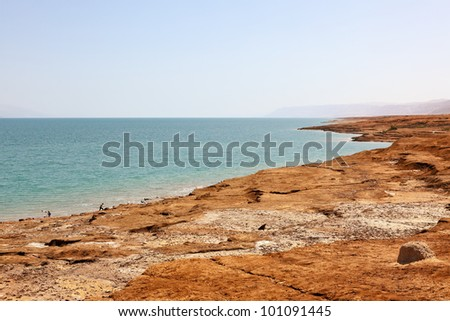 Dead Sea, Israel - stock photo