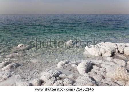 dead sea, jordan - stock photo