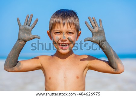 Dead Sea Mud bath Treatment - stock photo