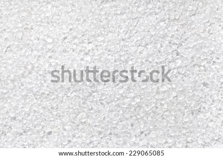 dead sea salt - stock photo