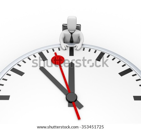 Deadline - stock photo