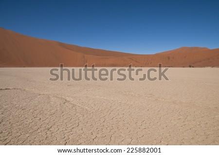 Deadvlei, Namib Naukluft Nationalpark, Namibia, Africa - stock photo