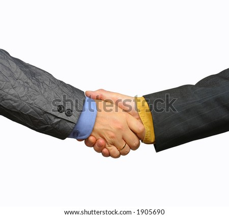 Deal - stock photo