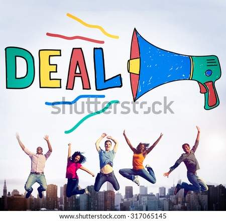 Deal Agreement Corporate Collaboration Partnership Concept - stock photo