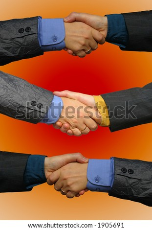 Deal done - stock photo