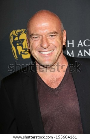 Dean Norris at the BAFTA Los Angeles TV Tea 2013, SLS Hotel, Beverly Hills, CA 09-21-13 - stock photo