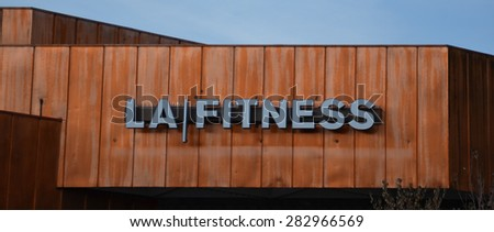 DEARBORN, MI - DECEMBER 21:  LA Fitness, whose Fairlane Mall store is shown on December 21, 2014, has over 600 health clubs