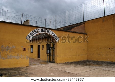 Death camp Terezin in Czech Republic