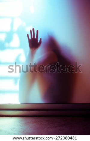 death of an unborn child concept. - stock photo