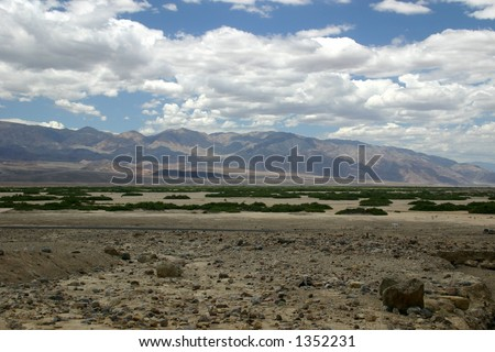 Death Valley - stock photo