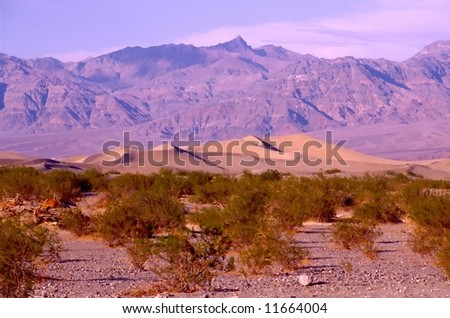Death Valley is the lowest, driest and hottest valley in the United states. It is the location of the lowest elevation in Western hemisphere
