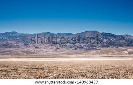 Death valley national park, California, USA - stock photo
