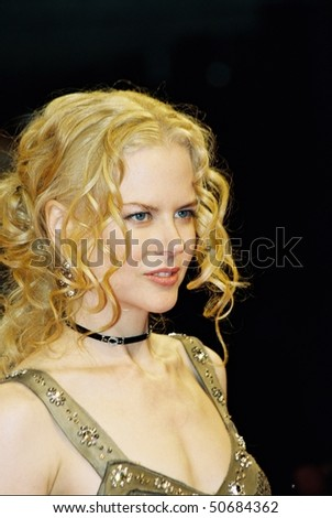 DEAUVILLE, FRANCE - SEPTEMBER 9: Actress Nicole Kidman attends the 'Birth' Premier at the 30th Deauville American Film Festival on September 9, 2004 in Deauville, France. - stock photo