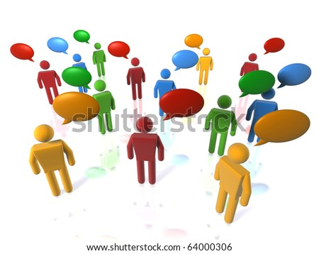 Debate (web-sized to 1080 HD sized footages also available) - stock photo