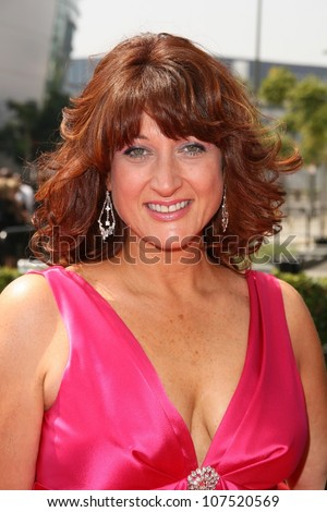 Debbie Zoller  At the 60th Primetime Creative Arts Emmy Awards Red Carpet. Nokia Live Theater, Los Angeles, CA. 09-13-08