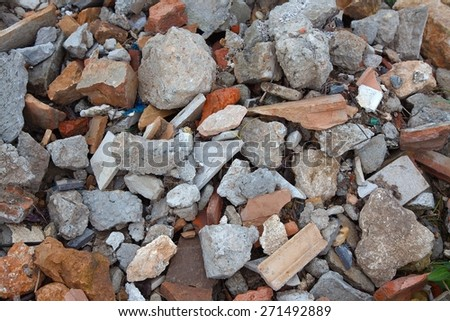 Debris Pile - stock photo