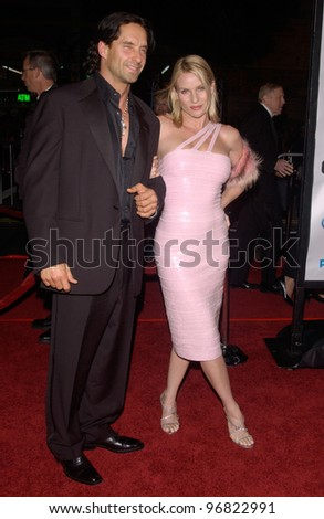 Dec 8, 2004; Los Angeles, CA: Actress NICOLETTE SHERIDAN & date at the Hollywood premiere of Ocean's Twelve.