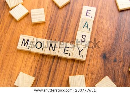 december 14 houston tx usa scrabble tiles spelling easy money