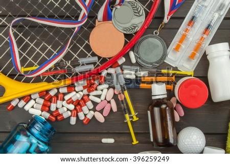 open glass vials steroids