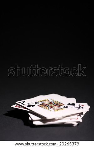 Deck of cards - stock photo