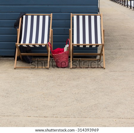 Deckchairs on the Promenade