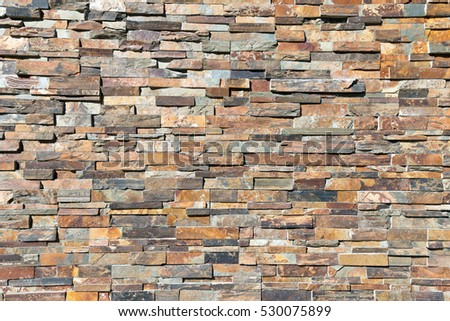 Decor natural stone wall texture