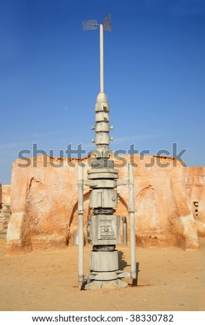 "decoration from film ""Star Wars"" ( 1976-2000), Tunisia"
