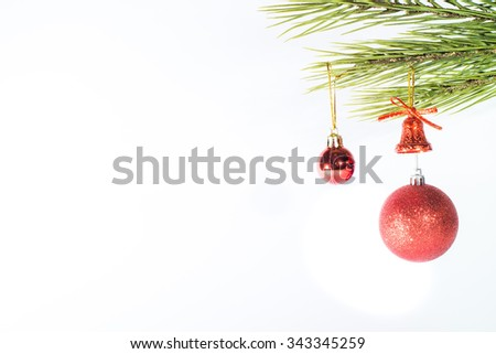 Decoration of Christmas