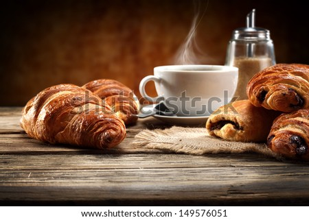 decoration of coffee  - stock photo