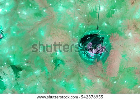 Decorations for New Year and Holidays,Christmas ball light bokeh background, Blurred,Blur Christmas ball colorful background,Happy New Year, Gold ball background