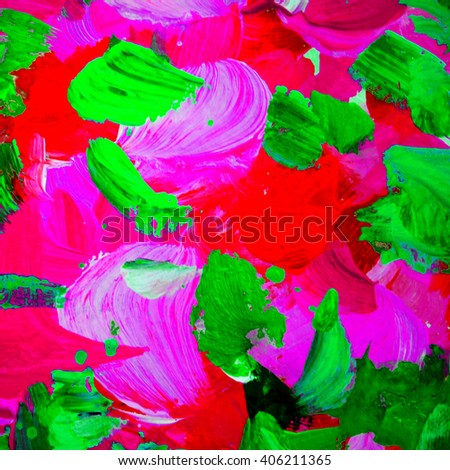 decorative abstract painting for interior, background, illustration, wallpaper - stock photo