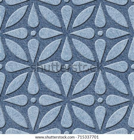 Decorative Arabic Pattern Interior Design Wallpaper Stock