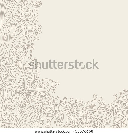 Decorative Background (in the gallery also available vector version of this image)