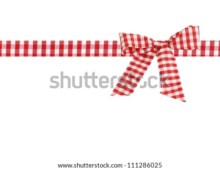 decorative bow - stock photo