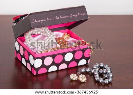 decorative box with jewelry - Decorative Box