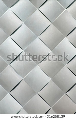 Decorative building wall texture and background. - stock photo