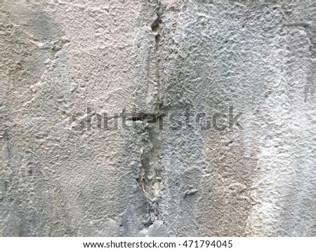 Decorative cement on a wall texture.